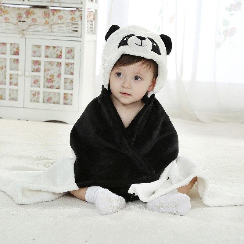 Newborn Cardigan Boy Girl Towel Toddler Toallas Hooded Bath Infantil Children Clothing New Cobertor Winter Baby Blanket Stuff
