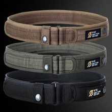 1000D Nylon Men's High Quality Military Equipment Brand Belt Tactical Outdoor Tactic Belt solid Army Male Belts Cummerbunds
