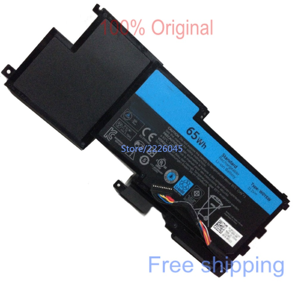 IECWANX 100% new Laptop Battery W0Y6W( 11.1V 65WH 9Cell) for Dell XPS 15-L521X Series 9F233 WOY6W