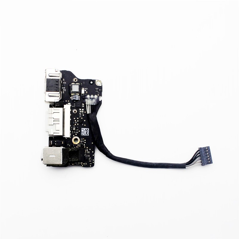 A1466 2013 2015 Power DC Jack Board Flex cable Repair parts For MacBook Air 13 A1466