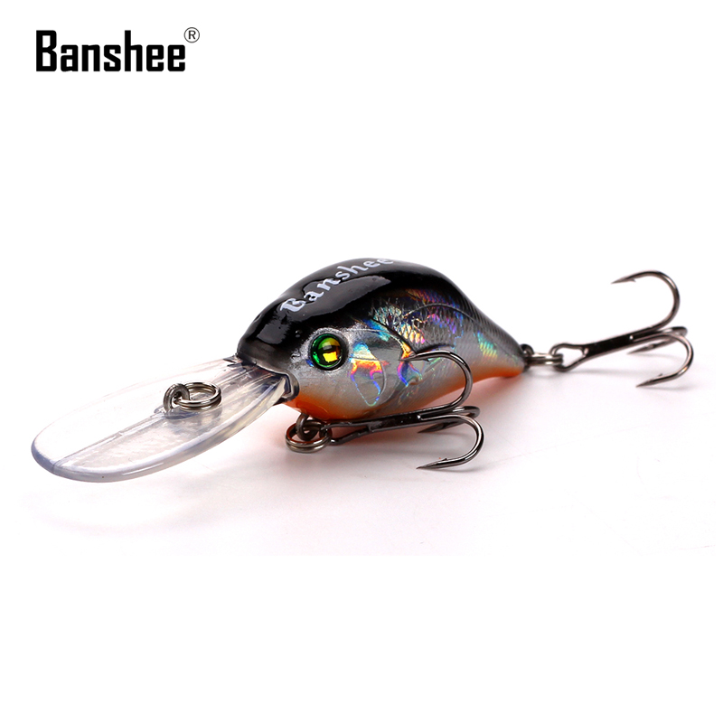 Deep Diving Crank Jerk bait Floating KXY007 Bass Colorful Fishing Lure Banshee Wobbler Hard Artificial Minnow Crankbaits
