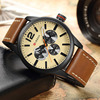 2017 CURREN Men Watches Top Brand Luxury Men S Sports Quartz Watch Man Fashion Casual Leather