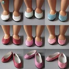 "7.5cm MIMI נעליים בובה אביזרים עבור 18 ס""מ 45 ס""מ ילדה אמריקאית & בובת טילדה בעבודת יד בובה הדור שלנו בובה"