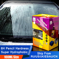 Rising Star RS A CC02 Nanotech Crystal Glass Coating 100ml Kit for DIY user 6H Nano hydrophobic Liquid Glass for Window Cleaning
