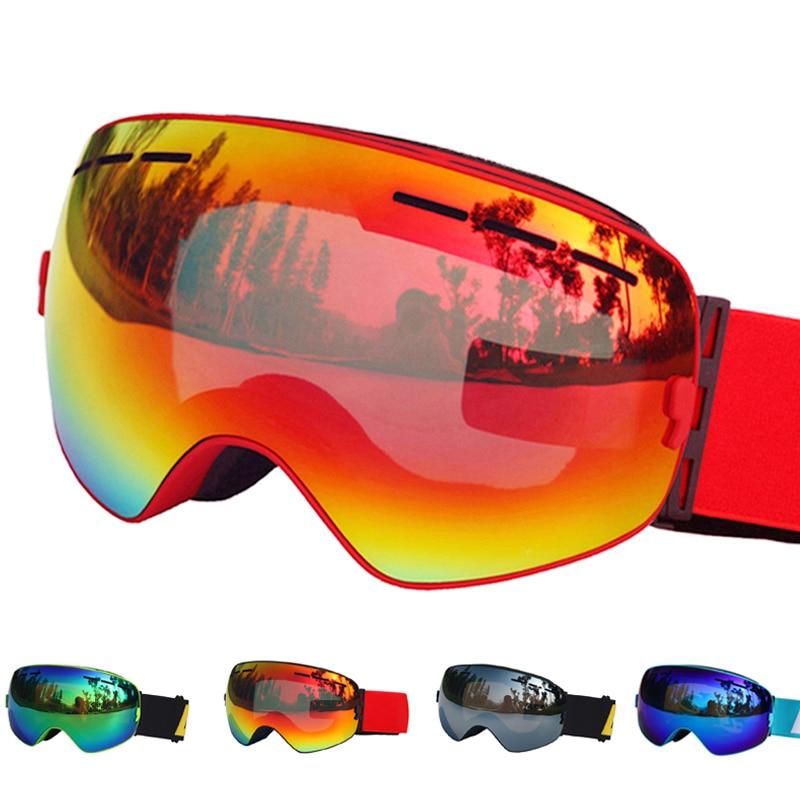 De Esquí gafas de doble capas UV400 Anti-niebla gafas de esquí nieve esquí Snowboard Motocross gafas máscaras de esquí o gafas