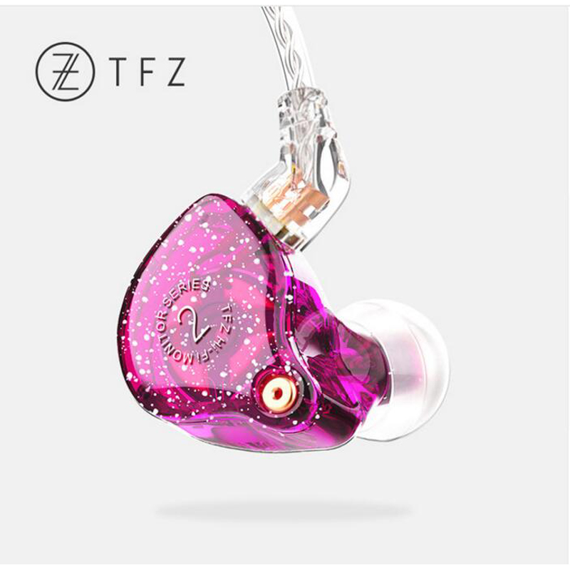 Newest The Fragrant Zither TFZ Series 2 S2 2Pin Interface HIFI Monitor In Ear Sports Earphone Customized Dynamic DJ Earphones the fragrant zither king pro neckband hifi monitor earphones tfz in ear sports hifi earbuds bass earphones metal earphone