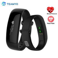 Teamyo M88 Smart Band Heart Rate Blood Pressure Monitor Watch Activity Tracker Smart Bracelet IP67 Waterproof