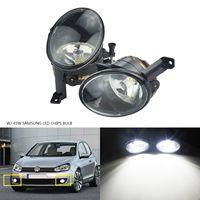 ANGRONG 2 x High Power 45W 2000LM SAMSUNG LED Bulbs Front Fog Lights Lamps L&R For VW JETTA MK6 Golf MK6 Plus Jetta Touran