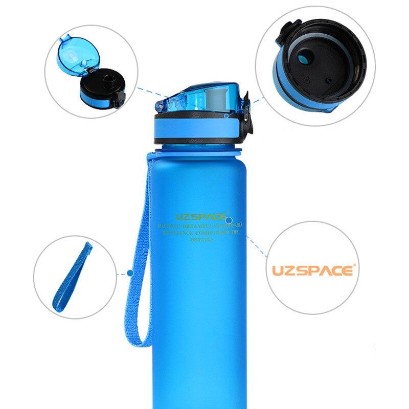 Transhome Mi Botella de Agua Tritan SIN BPA Portable Creativo Sello Irrompible G