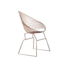 Полые железный стул отдыха творческая личность стул минималистский кресло согласования кресло бытовой диван стул