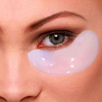 5pairs=10pcs Crystal Collagen Eye Mask Dark Circle Remover Anti-Wrinkle Whey Protein Patches Under the Eyes for Face
