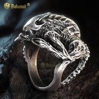 Bahamut Unique AVP Aliens Vs Predator AVP Hibernation Alien Ring