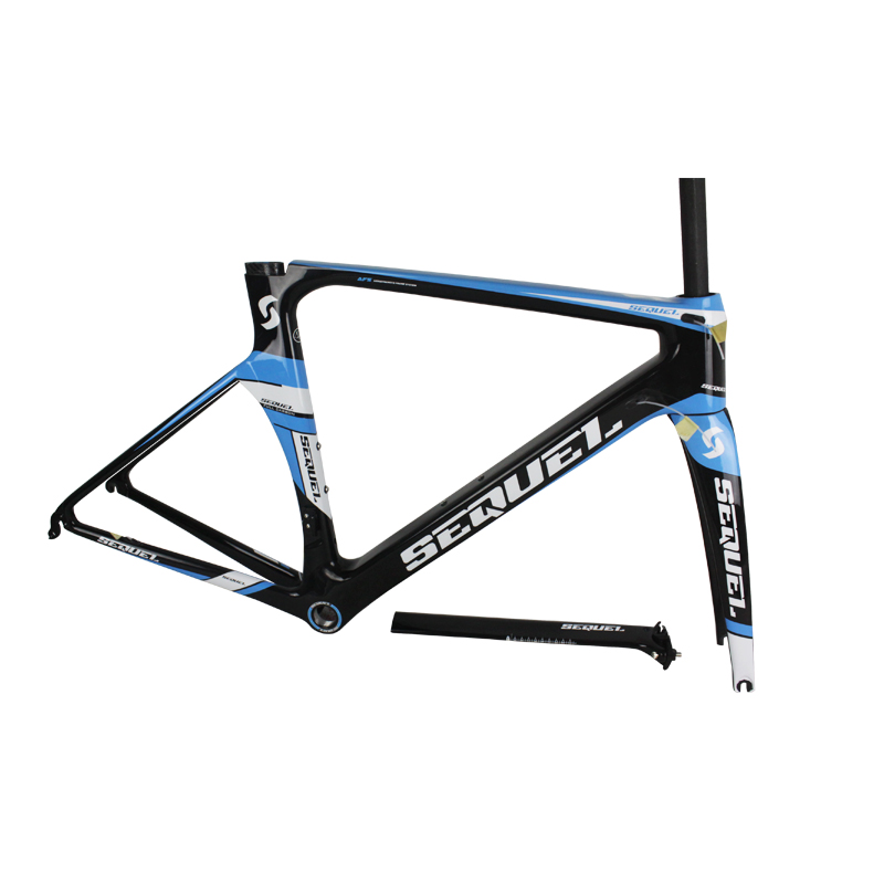 Carbon Road Bike Frame Se06 Blue Sequel Brand Bike Road Frame Bicycle Frame Used Racing Bikes High Quality