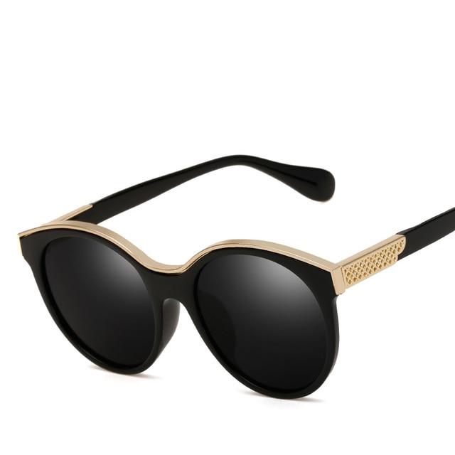61ce8669875c0 Super Retro Vintage Sunglasses Women Brand Designer Points Sun Glasses Oculos  De Sol Feminino Woman Casual Round Gafas Sunglass