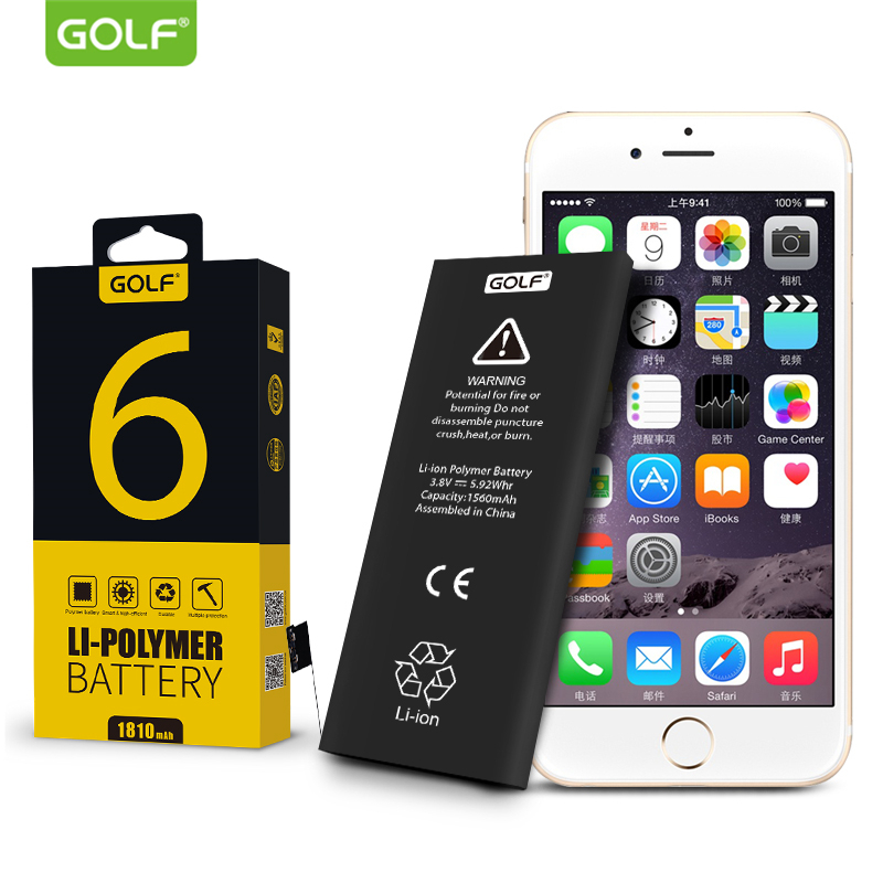 GOLF Battery For Built-In-Batteries Mobile-Phone Original Battery-1810mah-Replacement