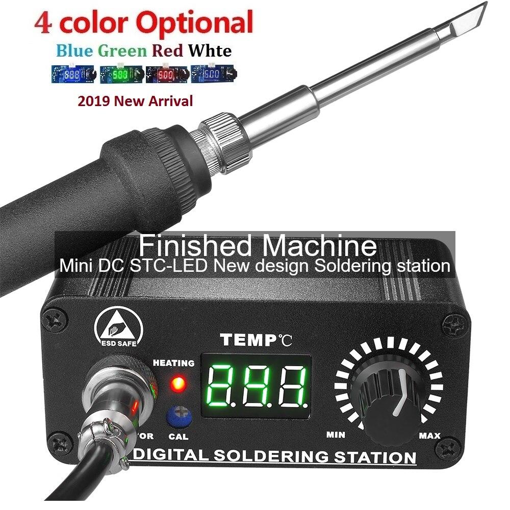 MINI T12 Électrique Unité Numérique fer à souder Station contrôleur de température Kits pour HAKKO T12 Poignée w/led vibration commutateur