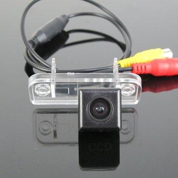 מצלמה עבור מרצדס בנץ CLK כיתת W209 A209 C209 2002 ~ 2009/מצלמה אחורית/NTST PAL/ לוחית רישוי מנורת מצלמה