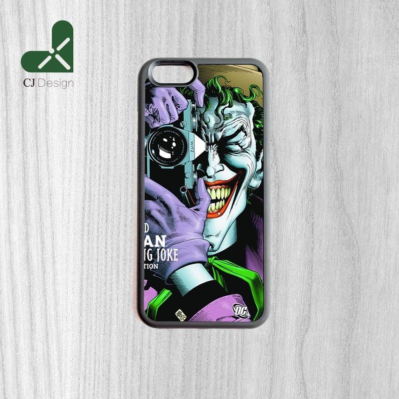 Keren Joker Wallpaper Karet Perlindungan Telepon Kasus Untuk iPhone 6 6 s Dan 4 4 s