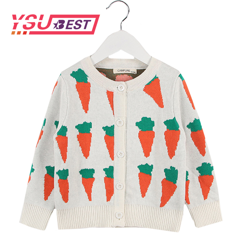 2019 New Cardigan Girl Kids Childrens Sweater Cute Carrot Cardigan Casual Knit Wear Baby Clothes Autumn Winter Girls Boys Coats2019 New Cardigan Girl Kids Childrens Sweater Cute Carrot Cardigan Casual Knit Wear Baby Clothes Autumn Winter Girls Boys Coats