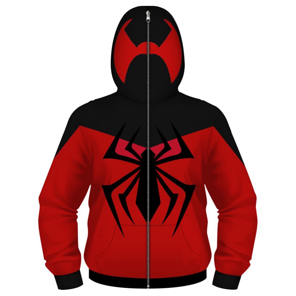 Ultimate Spider-Man Hooded Jacket Red