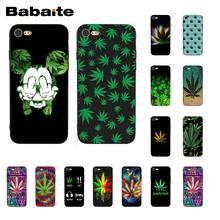 Babaite Abstraktion Kunst unkraut Telefon Fall für iphone 11 Pro 11Pro Max 8 7 6 6S Plus X XS MAX 5 5S SE XR(China)