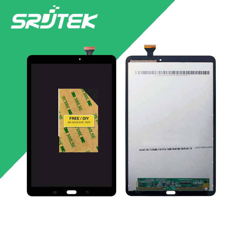 Best Quality T560 LCD For Samsung Galaxy Tab E 9.6 SM-T560 T560 T561 LCD Display With Touch Screen Digitizer Assembly ravensburger пазл дельфины 500 деталей