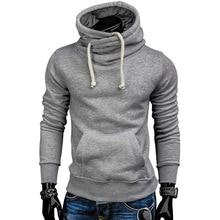 HU&GH New Spring Autumn Hoodies Men Fashion Pullover Solid Turtleneck Sportswear Sweatshirt Mens Tracksuits Moletom Masculino