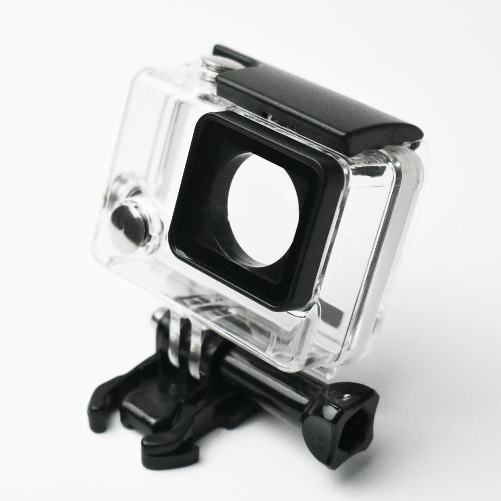 Carcasa impermeable para Gopro hero 4 hero 3 + hero 3 caja protectora subacuática para Go pro accesorios 45 m buceo
