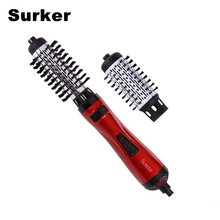 Cheapest prices Surker New Styling Tools 2 in 1 Professional Multifunctional Hair Dryer Automatic Rotating Hair Brush Roller Styler brush dryer