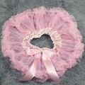Детские пушистые pettiskirts мягкий шифон балетной пачки младенца юбки новорожденных девочек юбки детская одежда Новорожденный юбки