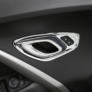 Image 5 - Shinekaカースタイリングabs 6 色インテリアインナードアハンドル装飾カバートリムフレーム 6th世代シボレーカマロ 2017