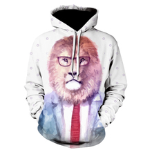 Lion Constellation Printed Hoodies 3D Men Women Hooded Pullover 5XL Sweatshirts Casual Pocket Outwear Novelty Coat drop ship