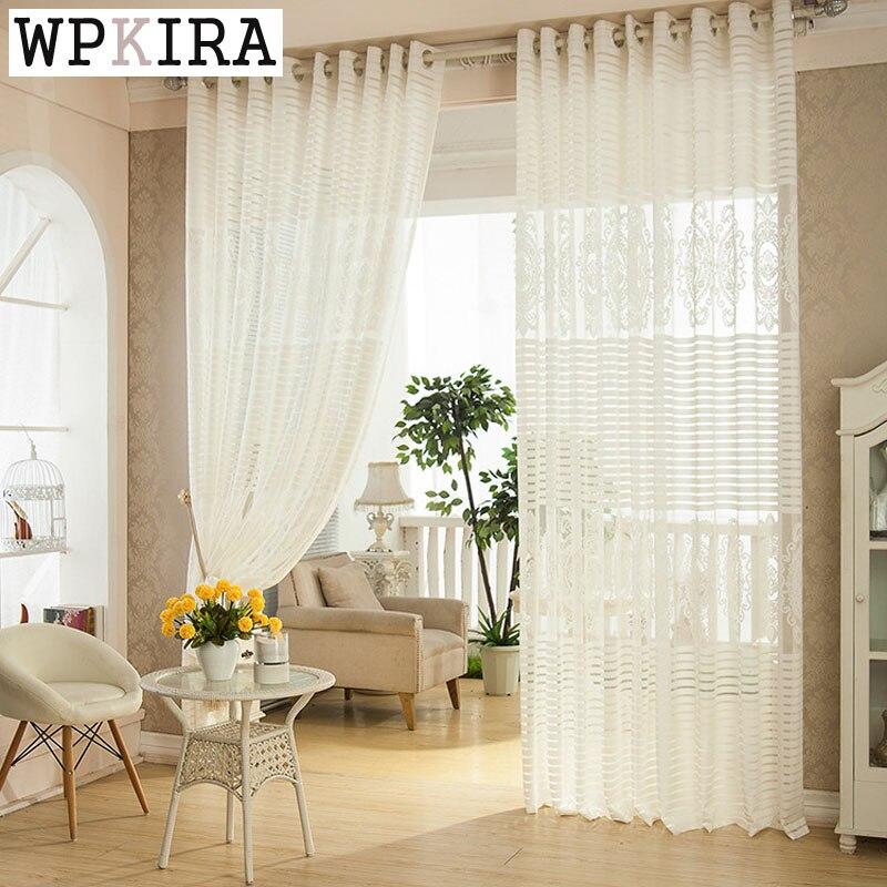 Varanda do quarto de luxo sala de estar cortina de fios for Cortinas de castorama pura