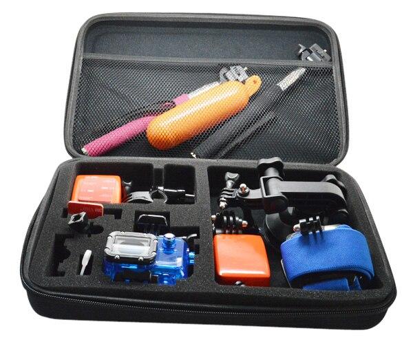 Big size Gopro carry box, Go pro travel bag, Go pro EVA case, Gopro collect accessories bag GP110 go travel travel accessories 332 dg
