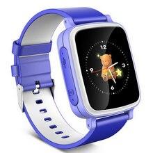 เด็กขนาดใหญ่สีเด็กอิเล็กทรอนิกส์นาฬิกาledสำหรับgp sวันเกิดแหวนมืออัจฉริยะ