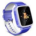 Niño grande color del bebé electrónica led relojes para gp s de cumpleaños anillo de la mano inteligente