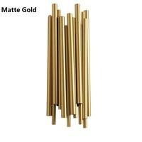 Современный роскошный Европейский золотой дизайн brubсветодиодный Eck светодиодный стенное бра лампа украшение для кровати настенный светил