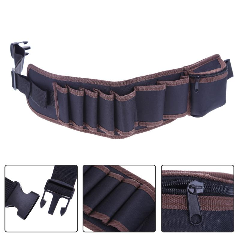 Electricians Adjustable Waist Pocket Tool Belt Pouch Bag Hammers Pliers Screwdriver Holder Storage Hand Repair Tool Kit Bags