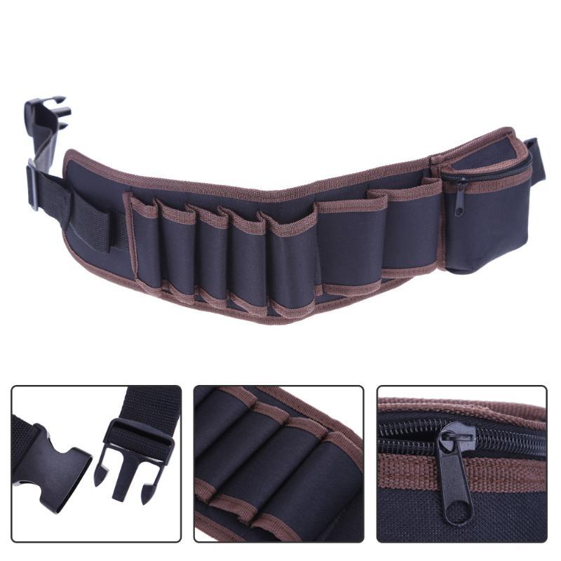 Electricians Adjustable Waist Pocket Tool Belt Pouch Bag Hammers Pliers Screwdriver Holder Storage Hand Repair Tool Kit Bags