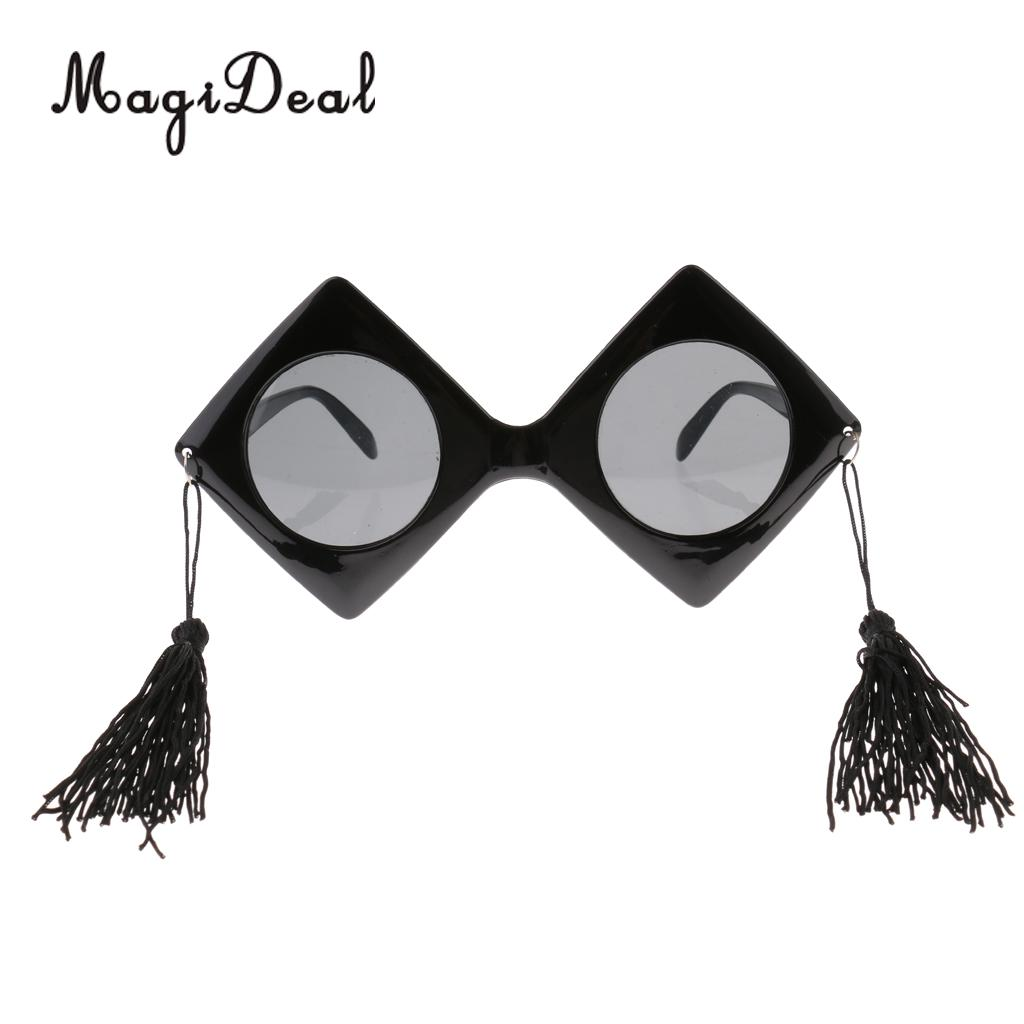 Novelty Trencher Cap Sunglasses Party Props Cosplay Graduation Eye Glasses