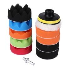 Инструмент для ухода за автомобилем, 11 шт., буферная полировальная Подушка, набор для полировки автомобиля, выберите размер, подарок, чистота, Карлинг, дропшиппинг
