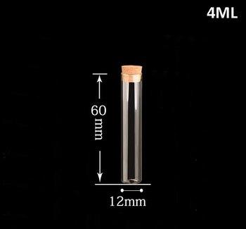 Factory price 100sets Glass Test Tube Bottle glass vial Pendant Cork Oil Clear High Borosilicate Wishing charm Pendant 1260mm