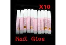 10 X 2g Mini Professional False Nail Art Acrylic Glue Nail Art Decoration Tips Adhesive Tool Makeup Beauty