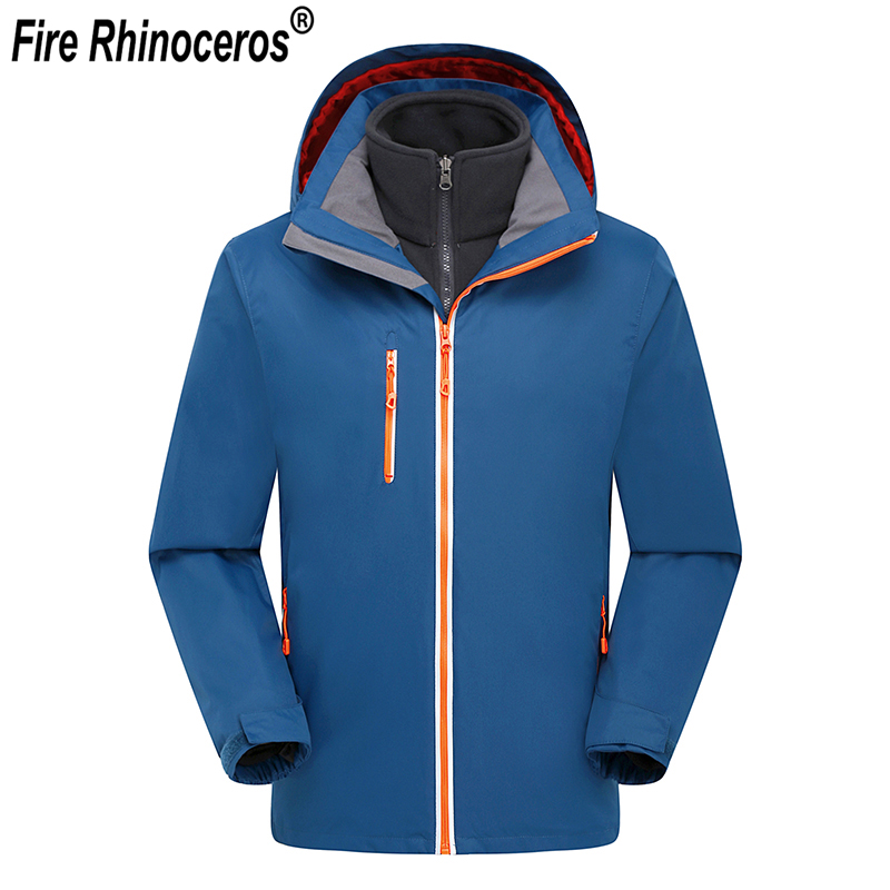 High Quality Breathable 3 in 1 Jacket Outdoor Sport Hiking Skiing Camping Jacket Waterproof Windstopper Winter Men JacketHigh Quality Breathable 3 in 1 Jacket Outdoor Sport Hiking Skiing Camping Jacket Waterproof Windstopper Winter Men Jacket