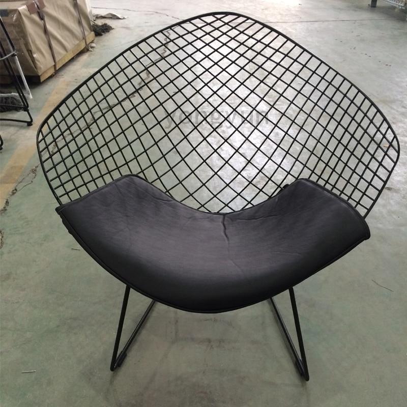 FREE SHIPPING Harry Diamond Leisure Chair Diamond Steel Wire Chair ...