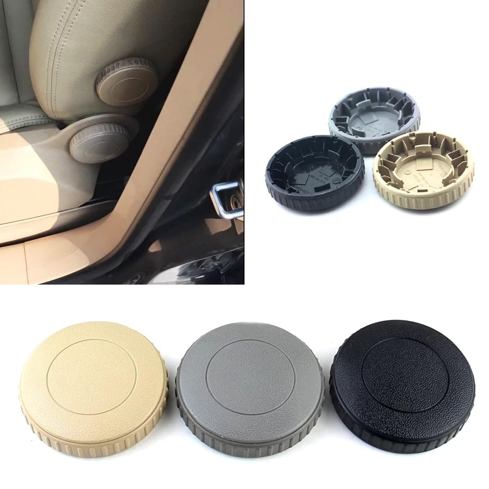 JEAZEA 1J0881671 Black Beige Grey Front Seat Recline Knob Adjust Handle For VW Golf MK6 Jetta MK5 Rabbit 2010 2011 2012 2013