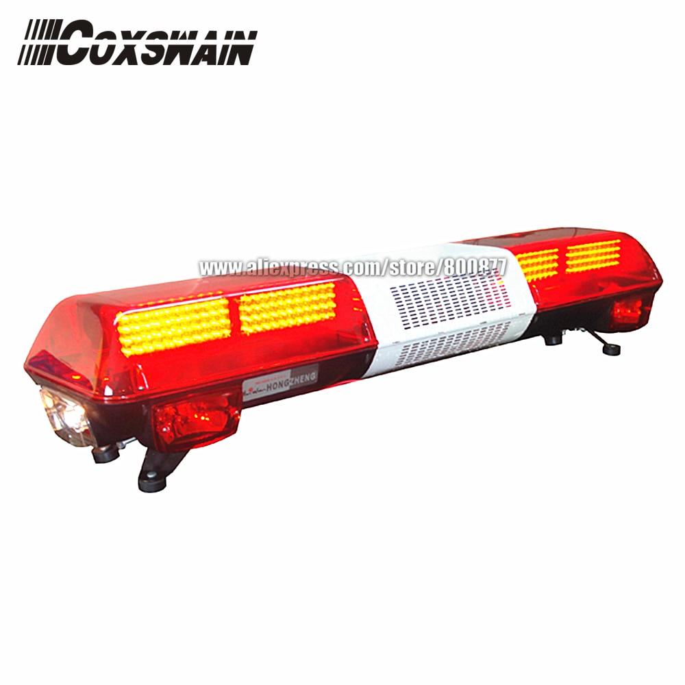 TBD-GA-05525C Car LED Lightbar For Fire Truck Warning Light, PC Lens, DC12V, 48