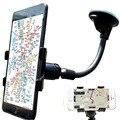 Ventanilla del coche del montaje del parabrisas del sostenedor del teléfono para iphone 6 6 s 5S 5 7 Samsung Accesorios Del Coche DVR GPS Phone Holder Soporte Universal