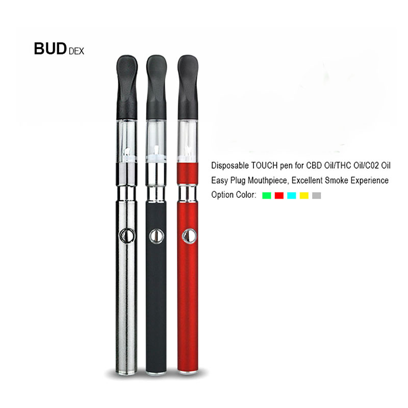 US $16 69 |Bud Dex Vape Pen Slim E Cigarette 510 Oil Vaporizer 0 4ml Tank  Refill Oil Cartridge Empty Supporting Free Shipping-in Electronic Cigarette