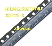 50pcs IRLML2502TRPBF SOT23 IRLML2502 SOT IRLML2502TR SOT-23  new and original bav99 sot 23 10pcs